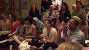 Kirtan audience